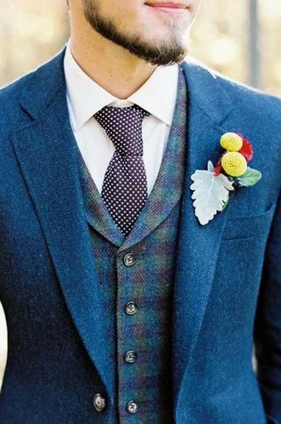 أزياء عريس خريف 2015 من موضة الستينات والسبعينات 3910459696