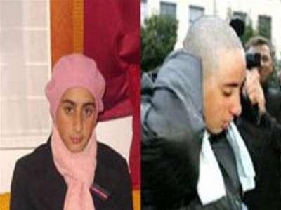 صور لطالبة مسلمة تحلق شعرها وتقول: لن يرى فرنسي شعري  9998295140