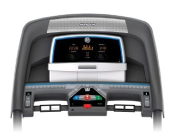 How To Buy Used Fitness Equipment (Treadmill) Horizon-T101-console