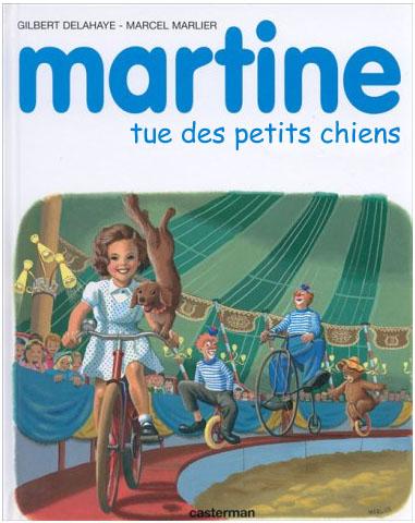 aaaah Martiiine .. Martine-chiens
