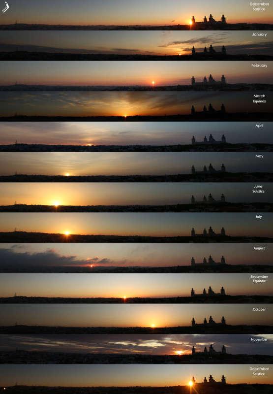 Восходы Солнца в течение года SunRiseYear_Abbadi_960