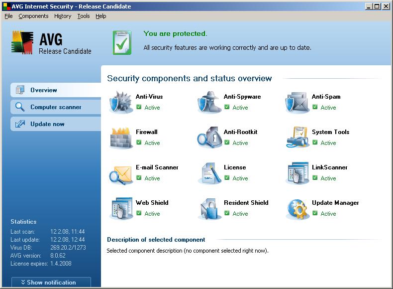 حميل برنامج القاتل للفيروسات المعروف AVG 8 antivirus للتحميل + السيريال 1028312263-2