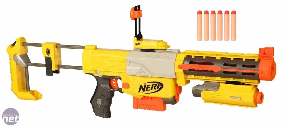 Hexrifle or Liquifier Gun - which do you dislike the least? Nerf-recon