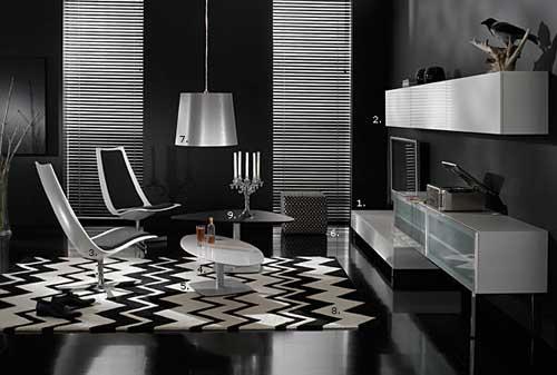 ديكورات بالابيض والاسود2012 شيك جداا 8e25-modern-interior-design-black-and-white