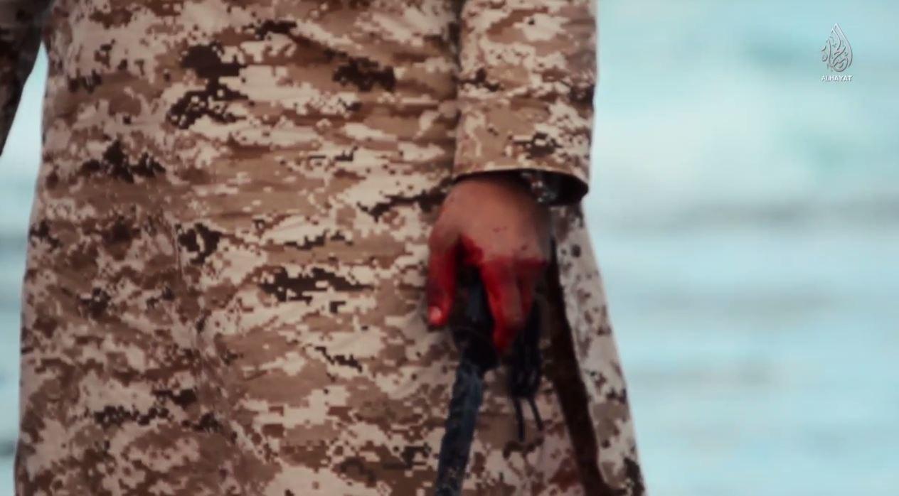 الوقائع الكاملة لأستشهاد 21قبطيا فى ليبيا على يد داعش 15/2/2015 1972723189