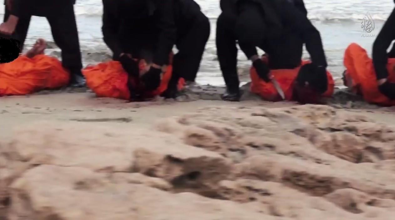الوقائع الكاملة لأستشهاد 21قبطيا فى ليبيا على يد داعش 15/2/2015 606741033