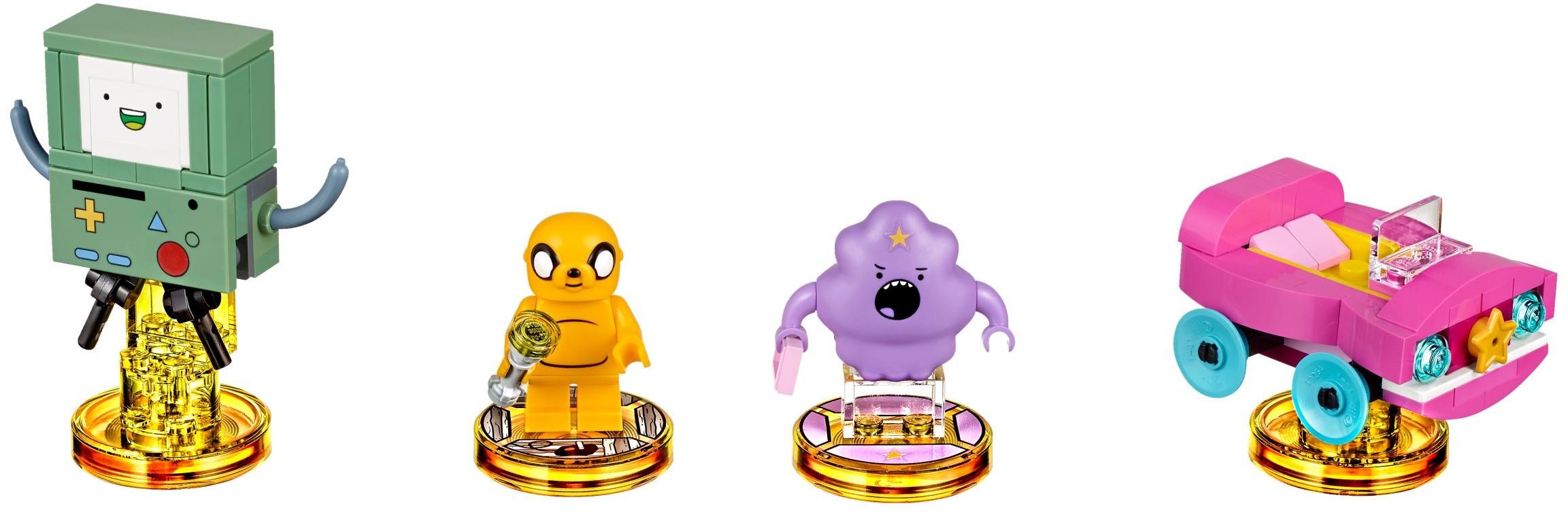 [Produits] Bientôt des figurines à construire Lego Adventure Time ! 71246-1