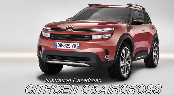 2018 - [FUTUR MODÈLE] [EUROPE] Citroën C5 Aircross [C84] - Page 8 S1-Un-nouveau-SUV-chez-Citroen-en-2017-357708