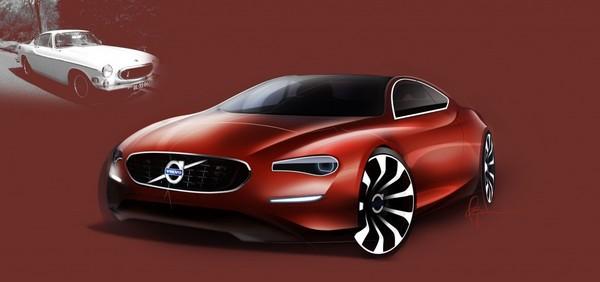 [Présentation] Le design par Volvo S7-design-Volvo-P1800-50eme-anniversaire-un-dessin-pas-un-dessein-248855