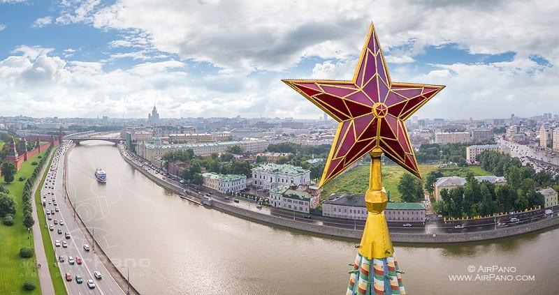 Московский Кремль с воздуха   00