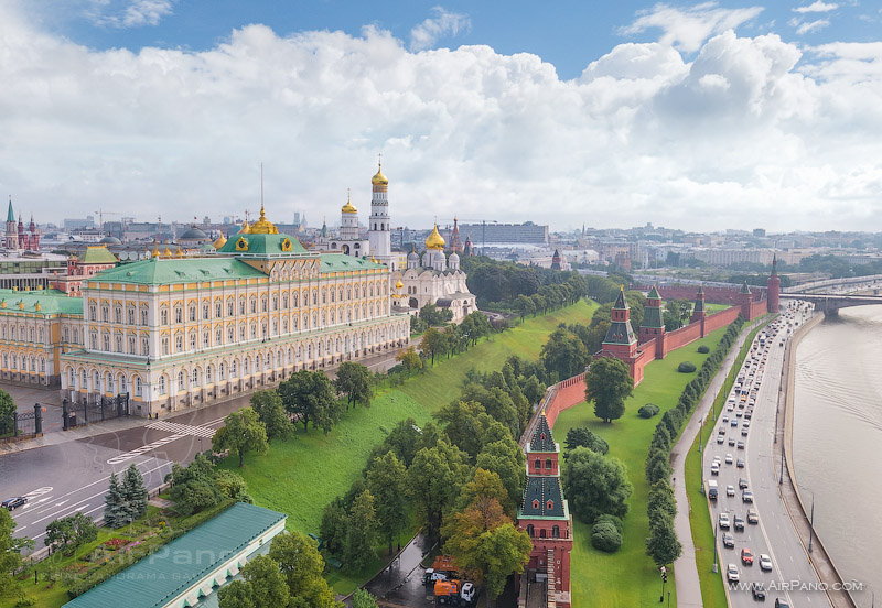 Московский Кремль с воздуха   03