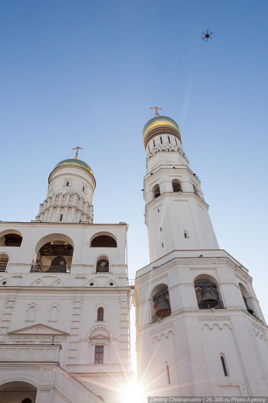 Московский Кремль с воздуха   04
