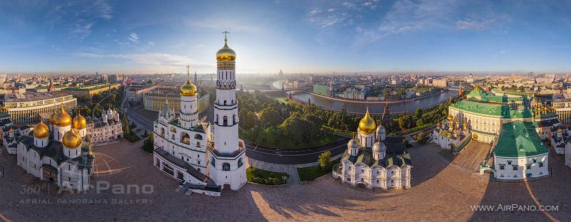 Московский Кремль с воздуха   07
