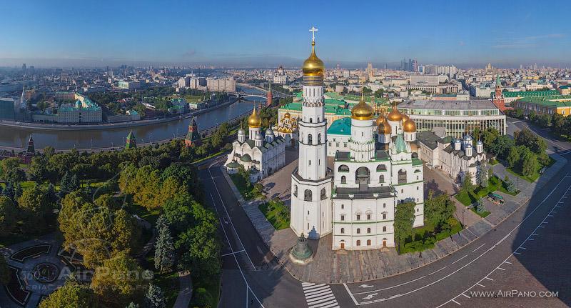 Московский Кремль с воздуха   08