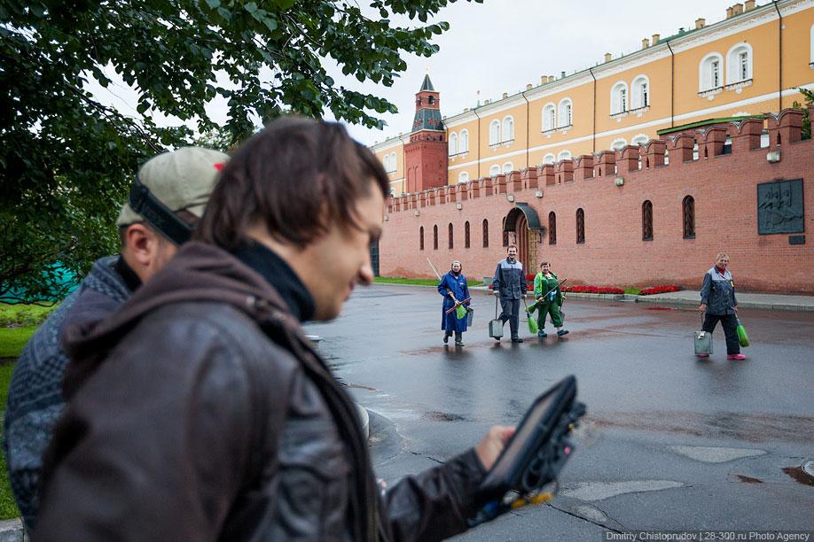 Московский Кремль с воздуха   10