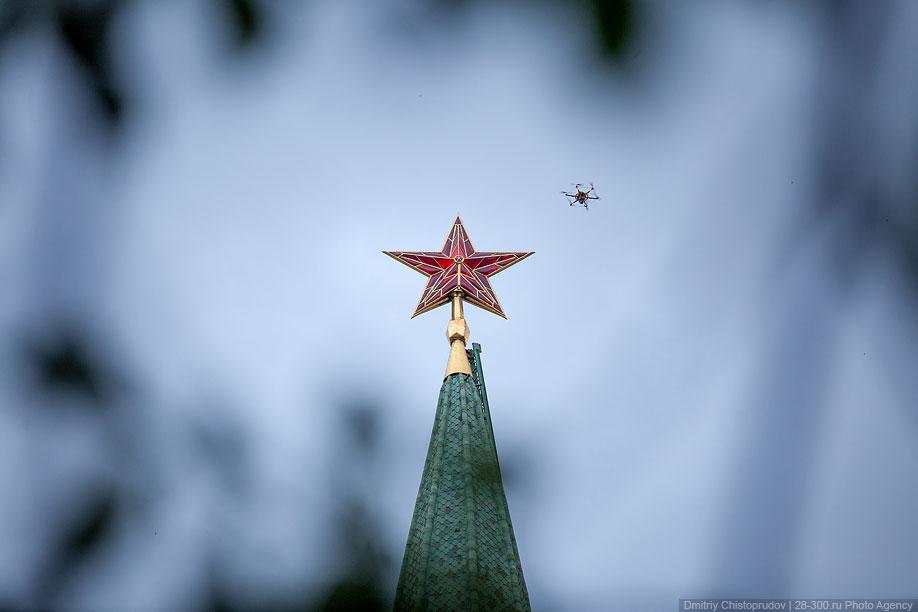 Московский Кремль с воздуха   11