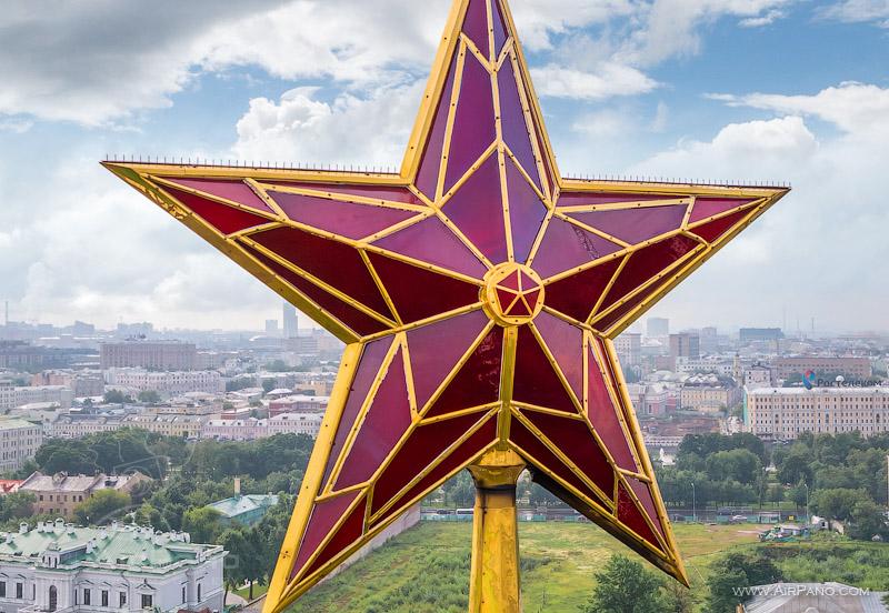 Московский Кремль с воздуха   12