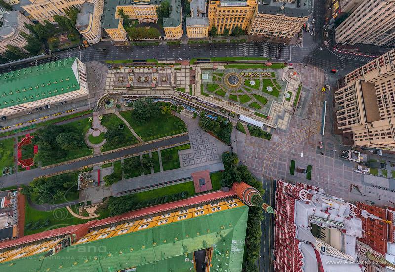 Московский Кремль с воздуха   13