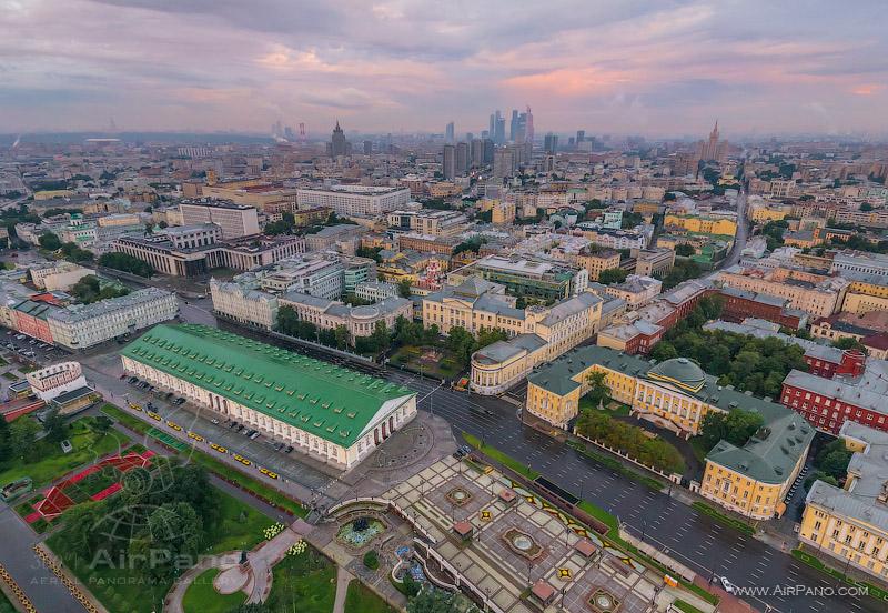 Московский Кремль с воздуха   14