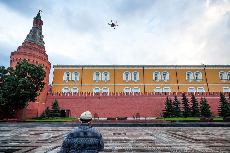 Московский Кремль с воздуха   15