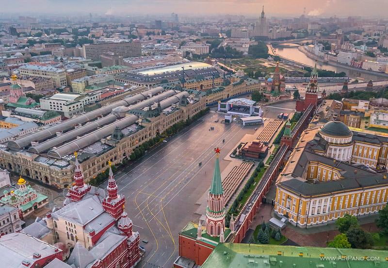 Московский Кремль с воздуха   16