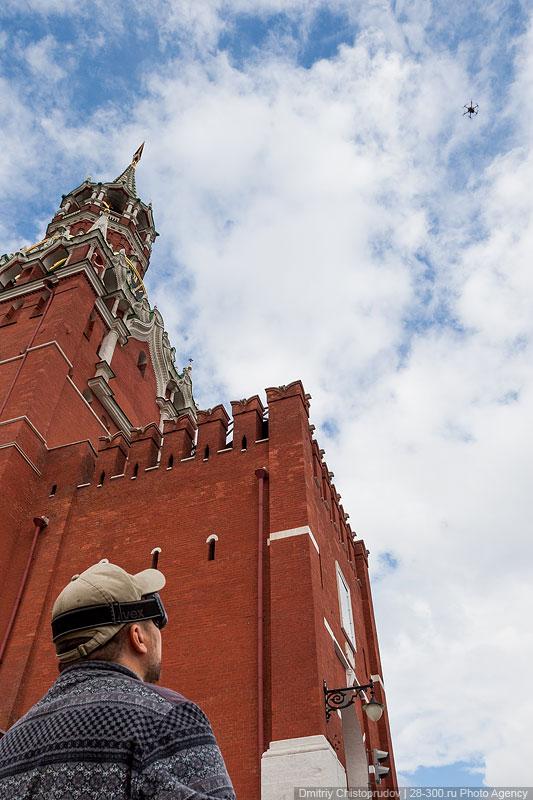 Московский Кремль с воздуха   17