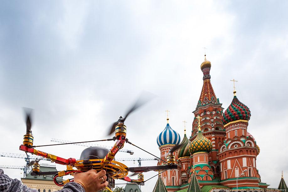 Московский Кремль с воздуха   18