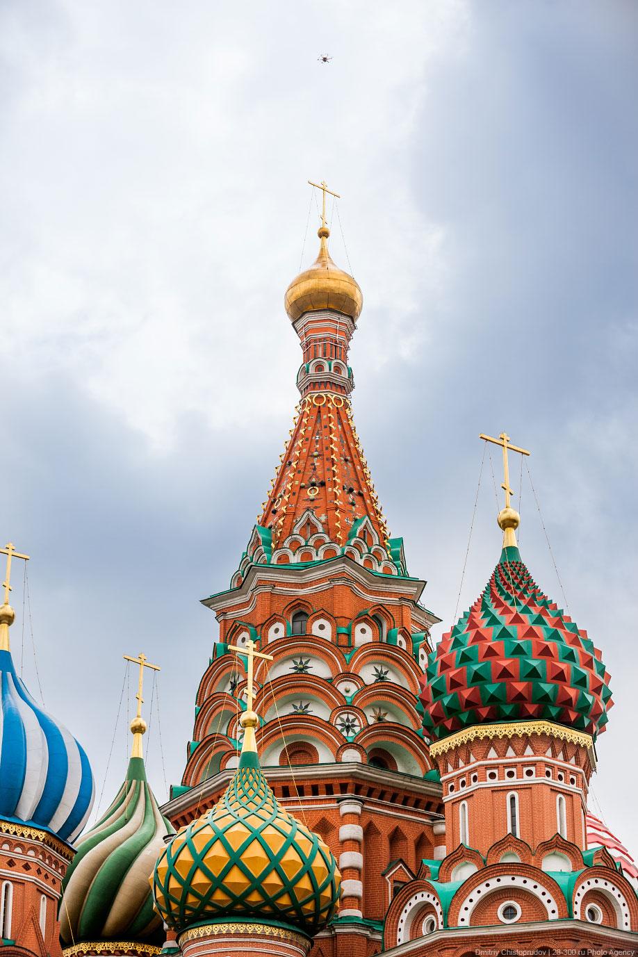 Московский Кремль с воздуха   19