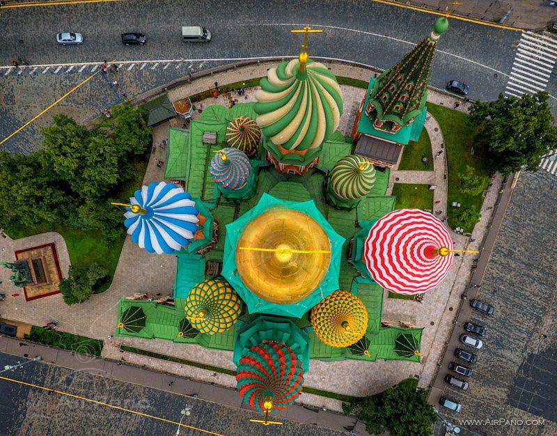 Московский Кремль с воздуха   20