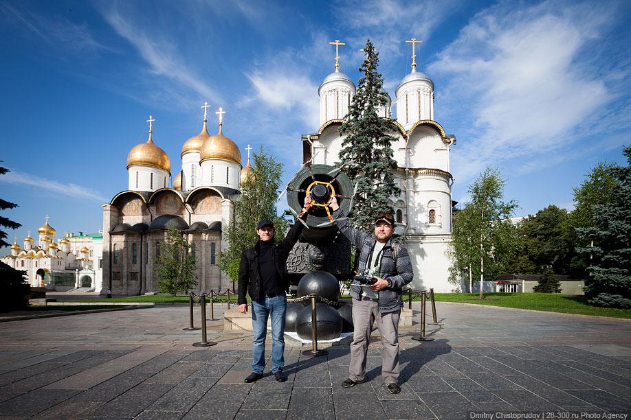 Московский Кремль с воздуха   23