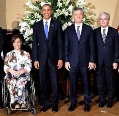 ¿Cuánto mide Mauricio Macri? - Altura - Real height Broma-Macri-Obama-Pinedo_CLAIMA20160324_0205_17