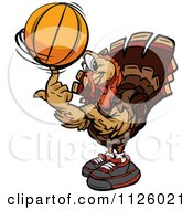 Le  rififi à l'UMP ça continue - Page 4 1126021-Turkey-Bird-Mascot-Spinning-A-Basketball