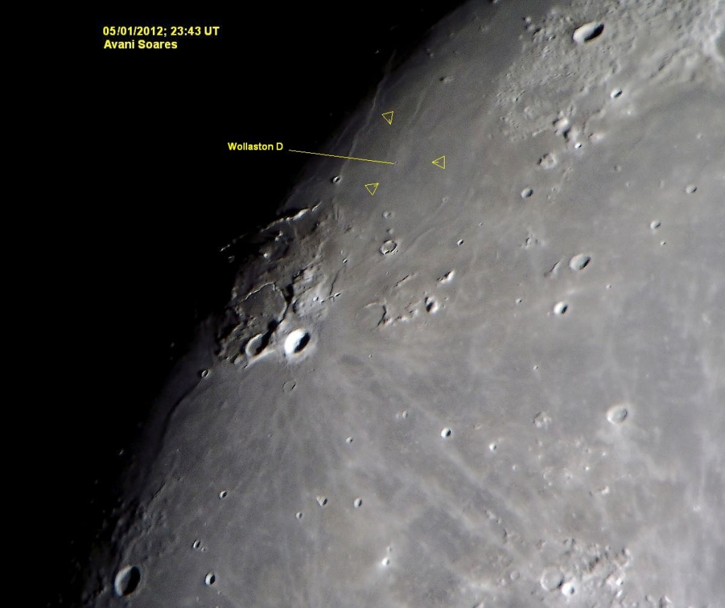 Relatando a descoberta de uma Cratera Fantasma L4473