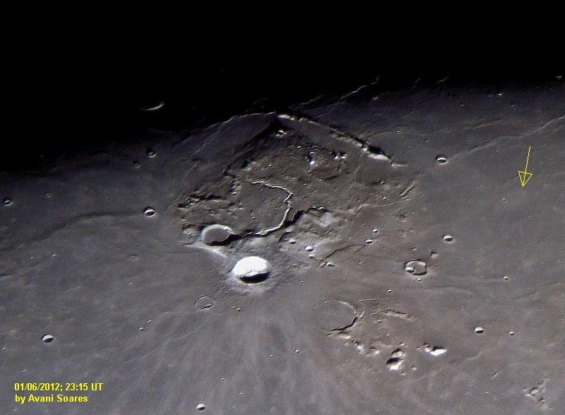 Relatando a descoberta de uma Cratera Fantasma Plateau_aristarchus_colours