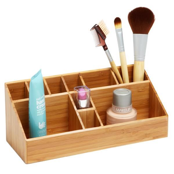 Come organizzare il make up BambooMakeupOrganizer_x