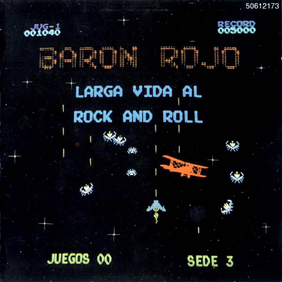 Larga vida al Leño Baron_Rojo-Larga_Vida_Al_Rock_And_Roll-Frontal