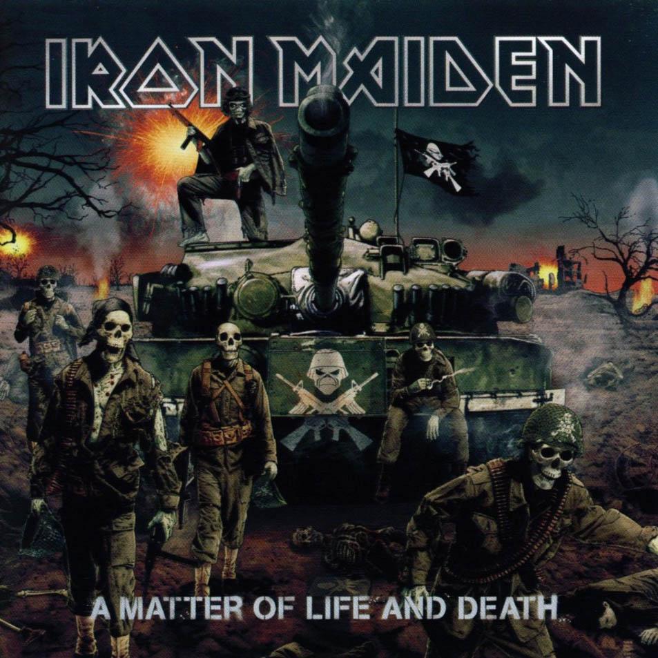 "IRON MAIDEN. Discografía comentada. ""BRITISH LION (Steve Harris)"" Iron_Maiden-A_Matter_Of_Life_And_Death-Frontal"