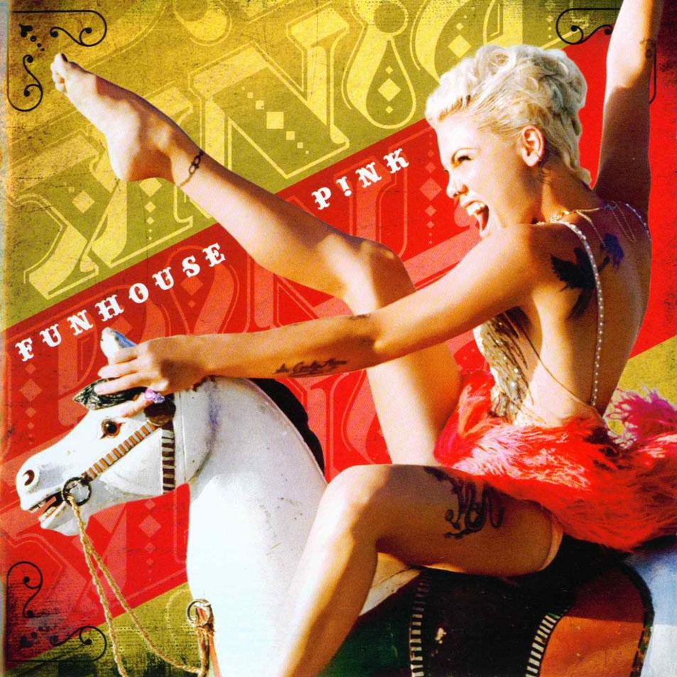 ♫ Álbum » Funhouse 'Haz tu review' Pink-Funhouse-Frontal