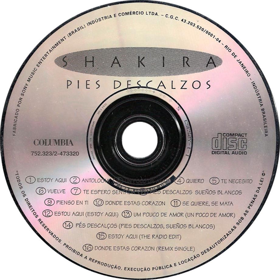 Álbum » 'Pies Descalzos' - Página 3 Shakira-Pies_Descalzos_(Edicion_Brasil)-CD