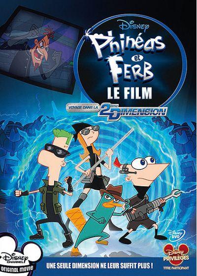 Phinéas et Ferb - Le Film : Voyage dans la 2e Dimension [Disney Television Animation - 2011] - Page 4 54891