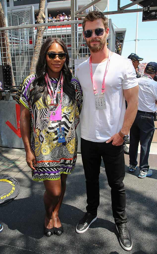 ¿Cuánto mide Serena Williams? - Altura - Real height Rs_634x1024-170528191010-634.Serena-Williams-Chris-Hemsworth-Monaco.kg.052817