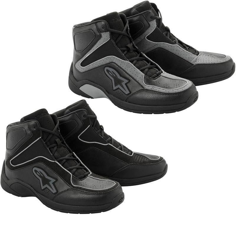 Que Short boots escolher? - Botas TCX X-Street WP  Alpinestars-Blacktop-Motorcycle-Riding-Shoes-All-Colours-1