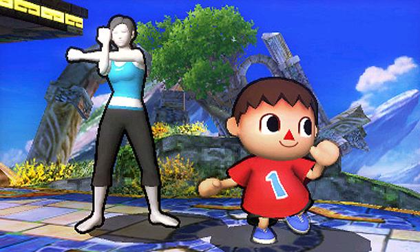 Review: Super Smash Bros. For 3DS (3DS Retail) Supersmashvill3dstrain_300
