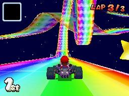 Top 5 Rainbow Road Tracks in Mario Kart RainbowroadDS