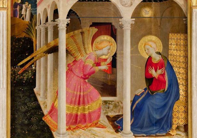 La Madonna. E molti dipinti sulla Natività da Samael. Annunciazione-ape_2911900_312041