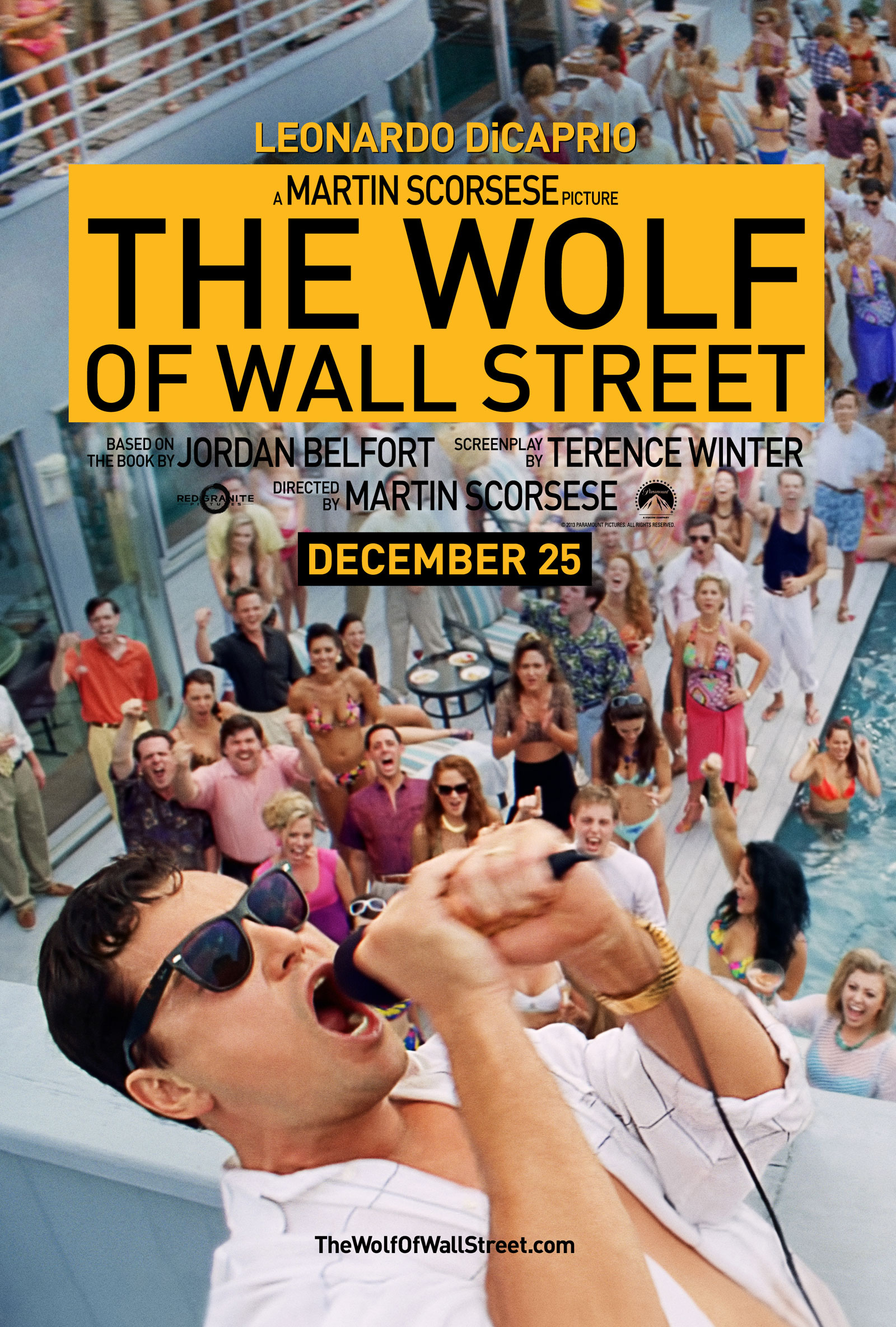 """FILM >> """"The Wolf of Wall Street"""" (Scorsese; DiCaprio) WOWS1122FL"""