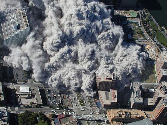 صور سقوط برج 11 سبتمبر Sep10