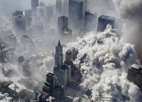 صور سقوط برج 11 سبتمبر Sep13