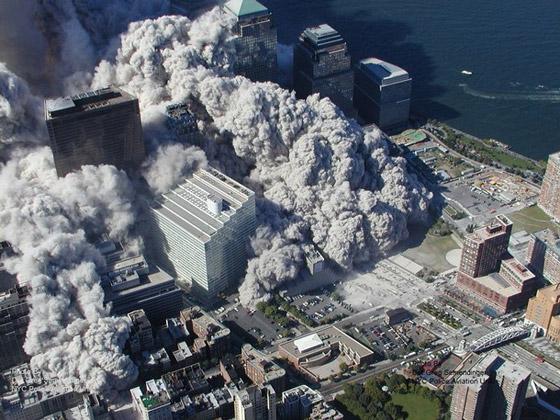 صور سقوط برج 11 سبتمبر Sep6