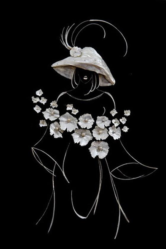 بالصور.. فنانة ترسم اجمل اللوحات باستخدام قشور وبقايا الاسماك Fishy_Paints_09